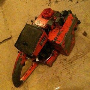Homelite Super XL Chainsaw Powerhead for Parts