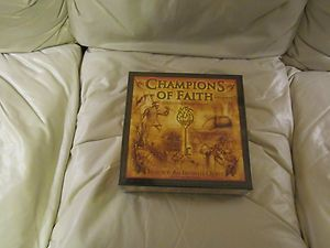 CHAMPIONS OF FAITH ADVENTURE BOARD GAME BY BIBLE QUEST (NEW)
