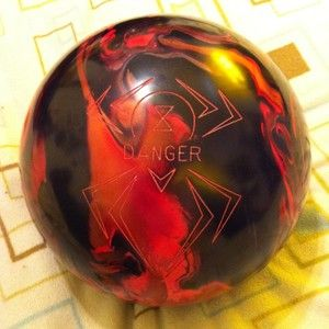 Hammer Bowling Ball 15 Pound Black Widow Danger Last Chance
