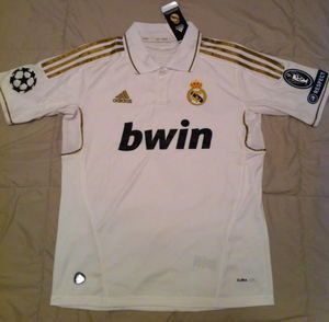 Cristiano Ronaldo Real Madrid Champions League Jersey