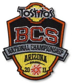 2011 BCS National Championship Tostitos Auburn Tigers Oregon Ducks