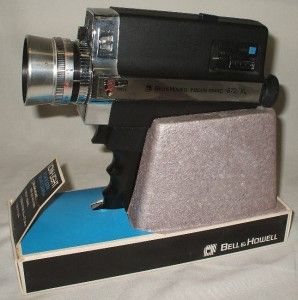 Vintage Bell Howell 672 XL Super 8 8mm Movie Film Camera with Original