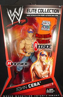 JOHN CENA WWE ELITE 7 MATTEL TOY WRESTLING FIGURE