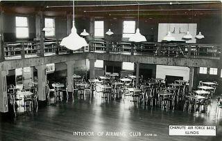 IL Chanute Air Force Base Airmens Club Interior M48451