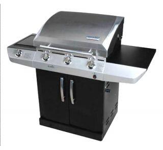 105183 M500 3 Burner Infrared LP Gas Grill 13 000 BTU