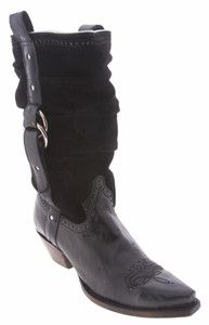 Charlie 1 Horse by Lucchese Black I4794 Womens Western Boots