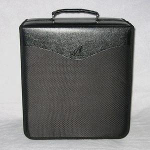 Disc Black Diamond CD DVD Metal 3 Ring Storage Wallet Binder Case 520