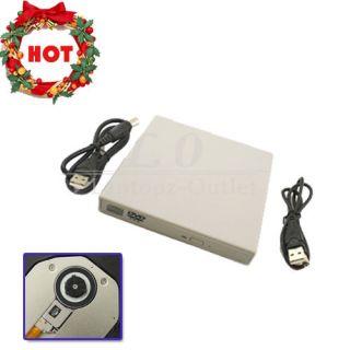 USB 2 0 Slim External DVD ROM CD RW Combo Drive Burner