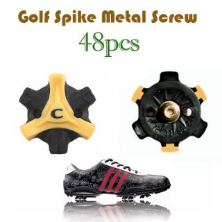 48pcs Champ Scorpion Stinger Golf Spike Small Metal Thread GSM 48P