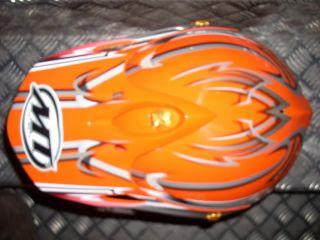 MT Xtorm Casco de Moto Cross Motocross de Fibra Talla L
