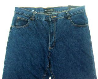Mens Ron Chereskin Jeans Classic Med. Blue 38x30