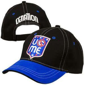 John Cena Cant See Me Blue WWE Baseball Cap Hat
