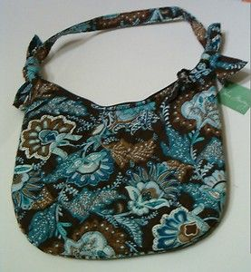 womens Vera Bradley purse~petite hobo style~New, super cute