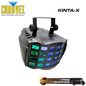 Chauvet Lighting Kinta x LED DJ DMX Lighting Effect Kintax