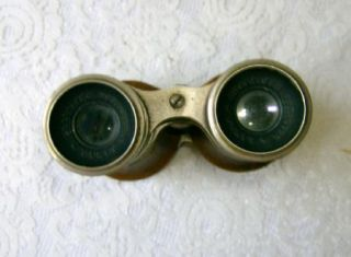 Vintage Chevalier Opticien Paris Binoculars