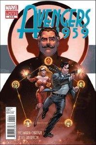 Avengers 1959 1 2 3 4 5 of 5 Chaykin Story Art Marvel Avengers Prequel