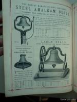 Machinery and Tools Catalog Charles Churchill Co London Antique