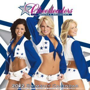 Dallas Cowboys Cheerleaders 2012 Wall Calendar