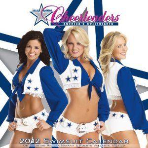 Dallas Cowboys Cheerleaders 2012 Wall Calendar