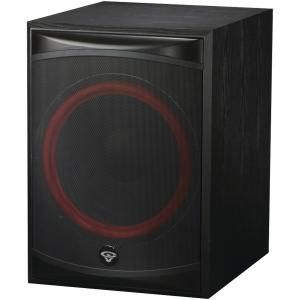 Cerwin Vega XLS 15S Subwoofer Speaker Home Theater Audio Black Powered