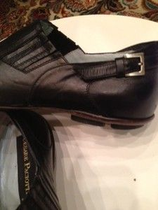 Cesare PACIOTTI Italian Black Loafers Shoes US 6 7 $699