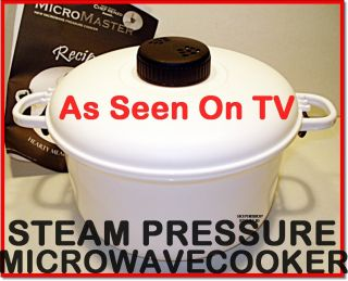 Micromaster Microwave Pressure Cooker Rice Steamer 2 5Q