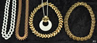 Gold Filled Plated Chain Link Necklaces Napier Monet
