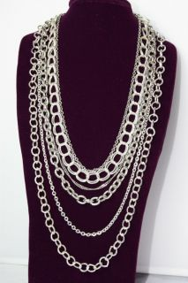 N117 Premier Designs Jewelry Chain Reaction Necklace