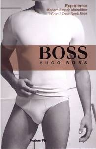 Hugo Boss Experience Stretch Microfiber Crew Neck Shirt