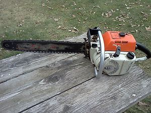Vintage Chainsaw Stihl 041 Farm Boss Auto Chainsaw 20 inch Bar Chain