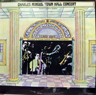 charles mingus town hall concert label fantasy records format 33 rpm