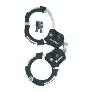 Master Lock 12 in Rough Street Hand Cuffs Lock Bike Cable Bicycles