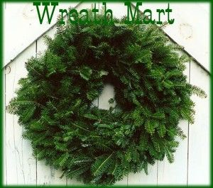 Maine Balsam Fir Christmas Wreaths 24 Made Fresh Daily Lot 2