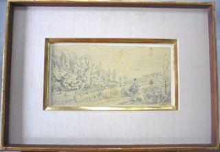 Charles Daubigny Springtime Spring 1857 Sketch Drawing Study Art Le