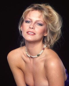 Cheryl Ladd Beautiful Sexy Pose in Very Low Cut Top WOW