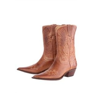 Charlie 1 Horse Ladies Cowboy Leather Boots I4585