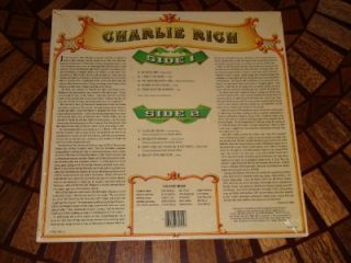 Charlie Rich Time Life Records Country Music SEALED LP