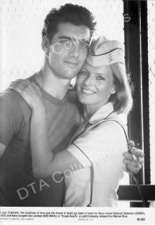 PURPLE HEARTS 1984 CHERYL LADD KEN WAHL B&W MOVIE STILL FN