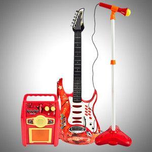 NEW Guitar Microphone Amplifier Toy Kids Karaoke Electric Boy Girl