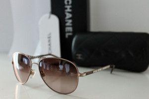 CHANEL Designer Aviator Style Sunglasses Mens Womens Unisex 4121 B RRP