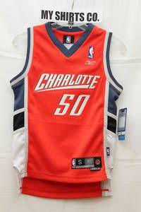 Charlotte Bobcats Emeka Okafor 50 Orange Slate Kids NBA Swingman