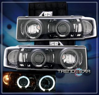 95 04 Chevy Astro Van GMC Safari Projector Headlight 03