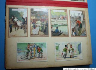 Huge Victorian Die Cut Scrap Album Scrapbook Lithograph Late 1800s