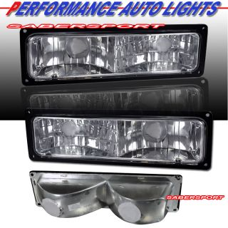 88 99 GMC Chevy C10 C K Full Size Truck SUV Euro Clear Parking Signal