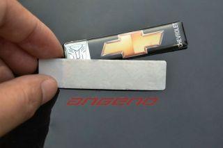 Angeno Brand Chevrolet Chevy Cruze Transformers Sticker
