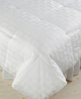 Charter Club Level 5 Links Europeand White Down Comforter King Heavy