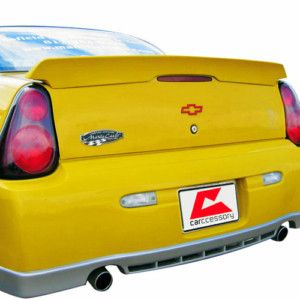 Painted Style Chevrolet Monte Carlo 2000 07 Spoiler