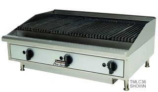 Toastmaster TMLC24 Lava Rock Charbroiler, counter top, natural gas, 24