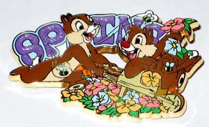 Spring Sparkle Series Chip Dale Disney Pin Le 250
