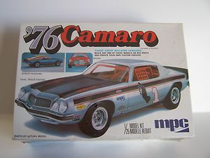 MPC 1976 Chevrolet Camaro 3in1 Model Car Kit 1 25th scale Factory